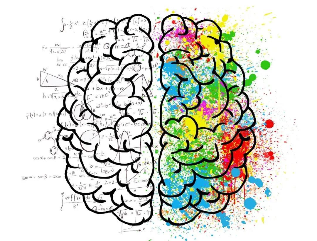 心智圖能夠兼顧大腦左半部的具象思考與右腦的抽象思考